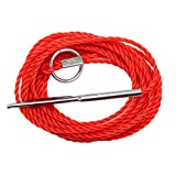Best Eagle Claw Monofilament Fishing Lines - Eagle Claw 04300-002 Stringer, Red, 9 Review