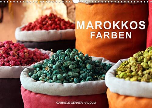 Marokkos Farben (Wandkalender 2022 DIN A3 quer)