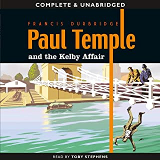 Paul Temple and the Kelby Affair cover art