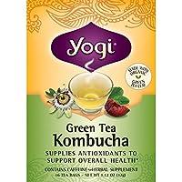 海外直送品Yogi Teas / Golden Temple Tea Co Green Tea Kombucha, Kombucha 16 Bags