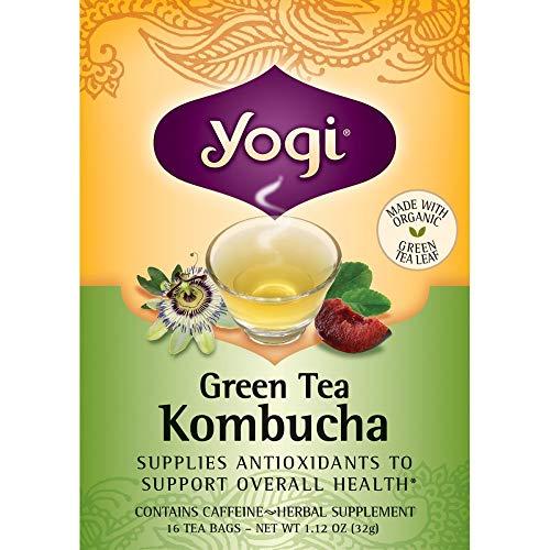 El té verde Kombucha, 16 bolsitas de...