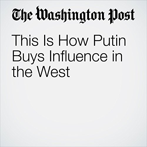 This Is How Putin Buys Influence in the West copertina