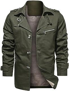 Autumn Cotton Jacket Men Autumn Windbreaker Mens Jacket Casual
