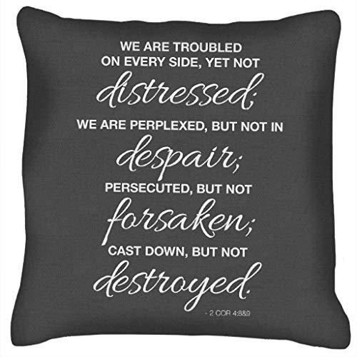 We zijn vervloekt op elke kant nieuwe testament citaat kussen