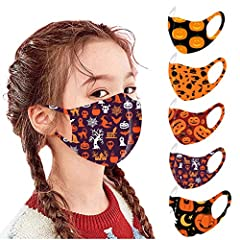 Cloth Face Bandanas for Child | SOFT BREATHABLE & WASHIABLE: High quality soft and comfortable bandanas. NOT cheap material that easy to pill or tear; It is THIN and LIGHTWEIGHT, breathable without feeling smothered; It is the moisture wicking and qu...