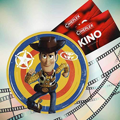 Cineplex Toy Story 4 Filmdose mit 2 Kinogutscheinen 2D