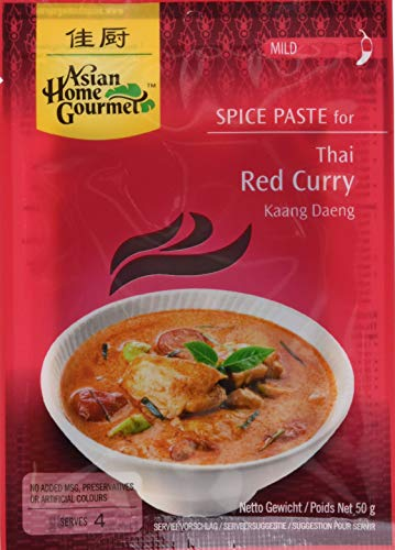 AHG Würzpaste Curry rot 50g, 12er Pack (12 x 50 g)