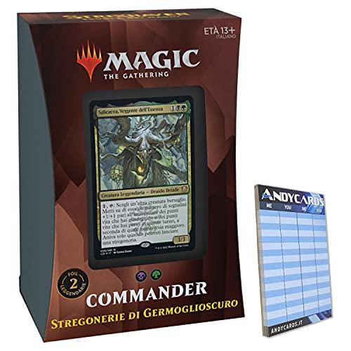 Baraja de brujería de Germoglioscuro – Commander Deck Strixhaven STX – 100...
