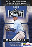 2020 Leaf Draft Baseball Factory Sealed Retail Box with (2) ROOKIE AUTOGRAPHS & 50 Card Set Including Jasson Dominguez, Wander Franco, Yoelqui Cespedes, Spencer Torkelson & More! WOWZZER!