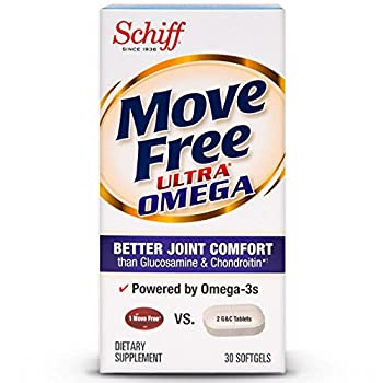 Move Free Ultra Omega 30 softgels - Joint Health Supplement with Omega-3 Krill Oil and Hyaluronic Acid