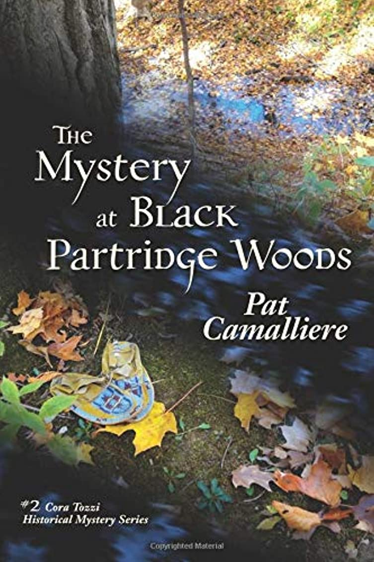 弾丸クローゼットかまどThe Mystery at Black Partridge Woods (Cora Tozzi Historical Mystery Series)
