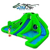 Blast Zone Ultra Croc - Inflatable Water Park with Blower - Massive - Premium Quality - Dual Slides - Splash Area - Climbing Wall