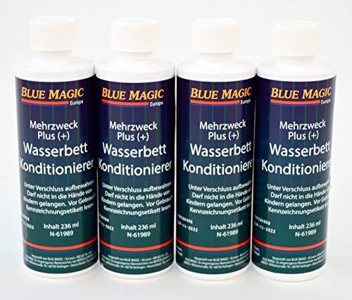 ABBCO 4 St. Blue Magic Wasserbett Konditionierer Mehrzweck Plus a 236ml