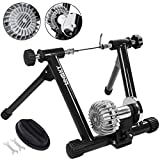 Popsport Fluid Bike Trainer Stand 330LBS Indoor Bicycle Trainer 750W Flowing Resistance Indoor Bike...