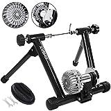 Popsport Fluid Bike Trainer Stand 330LBS Indoor Bicycle Trainer 750W Flowing Resistance Indoor Bike...