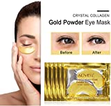 Zoom IMG-1 crystal 24k gold collagen eye