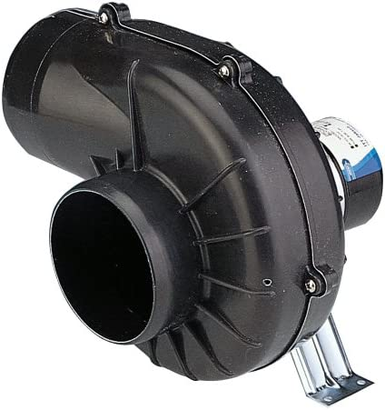 Jabsco 35440 0000 Flexmount DC 250 CFM Blower Black 4 inch 12 volts product image