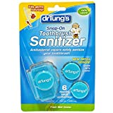 Snap-On Toothbrush Sanitizer by Dr. Tung's