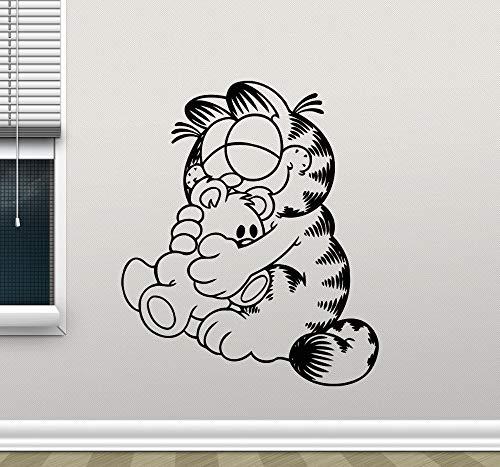 Tianpengyuanshuai cartoon kat kinderkamer sticker vinyl muursticker decoratie huis decoratie