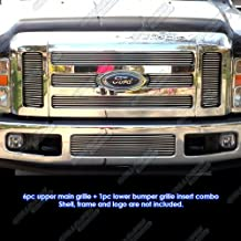 APS Compatible with 08-10 Ford F-250 F-350 Super Duty Billet Grille Combo F67803A
