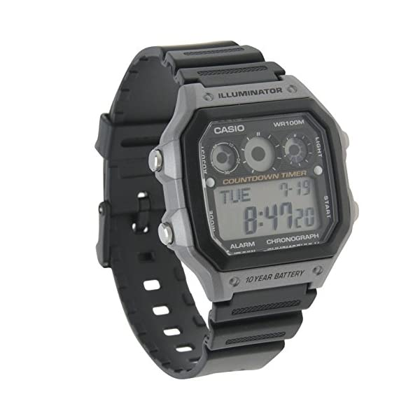 Casio watches Casio Men's AE-1300WH-8AVCF Illuminator Digital Display Quartz Black Watch