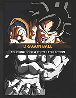 Coloring Book & Poster Collection: Dragon Ball Highquality Metal From Amazing Dragon Ball Colle Anime & Manga