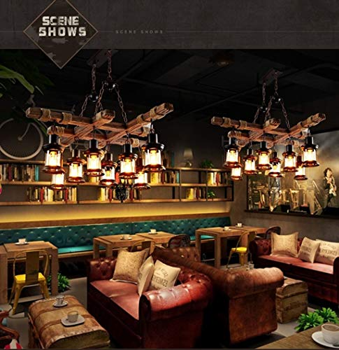 CKQ-KQ Hanglampen Island Kroonluchter Boat Chandelier Cafe Bar Lamp Vintage Kroonluchter industriële stijl Planken Lighting Restaurant Chandelier