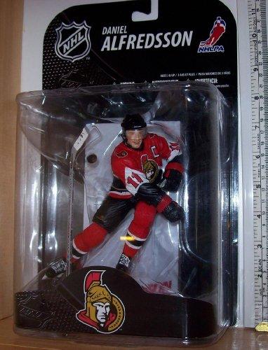 McFarlane NHL Grosnor Exclusive Series DANIEL ALFREDSSON #11 - Ottawa Senators Sports Picks Figure