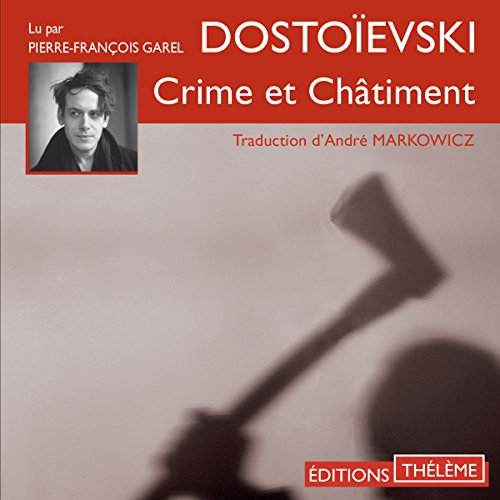Crime et châtiment audiobook cover art