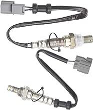 higherbro 2x Oxygen O2 Sensor 1 & 2 for 2002 2003 2004 Honda CR-V 2.4L Upper + Lower