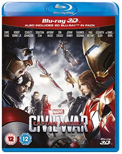 Captain America: Civil War (3D) [Blu-ray] [UK Import]