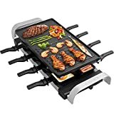 Best Raclette Grills - LIVEN Raclette Table Grill,Smokenless Indoor Grill Electric Grill Review
