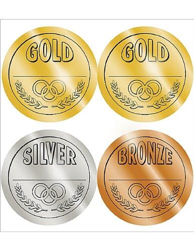 Teacher Created Resources Medals Wear'Em Badges (4911)