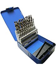 BEAUY 51pc Engineering Drill Bit Set Hss 1-6mm in 0.1mm Increments