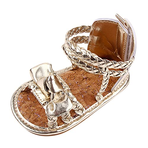 YWLINK Sandalias De NiñA,Zapatos De Cuero,Arco,Zapatos De Punto,Zapatos Brillantes,Sandalias De Princesa,Sandalias Romanos De NiñAs Verano Princesa Zapatos Sandalias Playa Ligeras Deporte