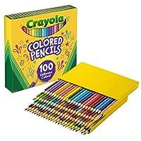 (クレヨラ) Crayola 色鉛筆 1-Pack of 100 68-8100