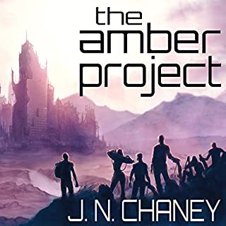The Amber Project audiobook cover art