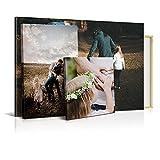 Lienzo Personalizado con Foto, 70 x 50 cm, Varias Medidas, Impresión HD, Cuadro Enmarcado, Decoración Moderna para Salón y Dormitorio, Regalo Personalizado Original
