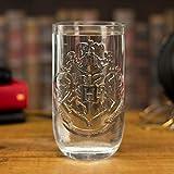 Paladone PP4952HP Hogwarts - Vaso para beber, diseño de escudo de Harry Potter, multicolor, 14 x 10...