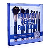 fast b. Makeup Brushes 7 Pcs Makeup Brush Set for Foundation Powder Eyeshadow Concealer, Magnetic Face and Eye Brush, Vegan and Cruelty Free