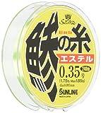 サンライン(SUNLINE) エステルライン ソルティメイト 鯵の糸 240m 0.35号 1.75lb