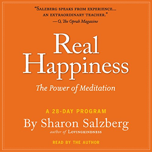 Real Happiness Audiobook By Sharon Salzberg cover art