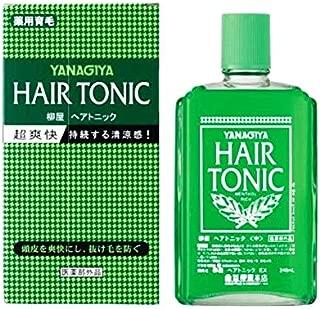 YANAGIYA Hair Medicated Hair Growth Tonic 240ml imported from Japan