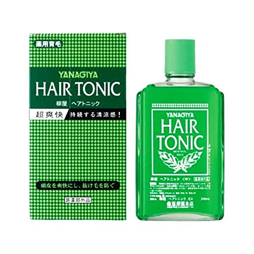 YANAGIYA Hair Medicated Hair Growth Tonic 240ml imported from Japan