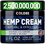 Nature-Gifted Hemp Oil - Coldee hеmp cream is the way mother nature intended. The ultimate power of Hеmp Extract and all-natural compounds in our professionally developed formula help to soothe discomfort in muscles and joints with a pleasant calming...