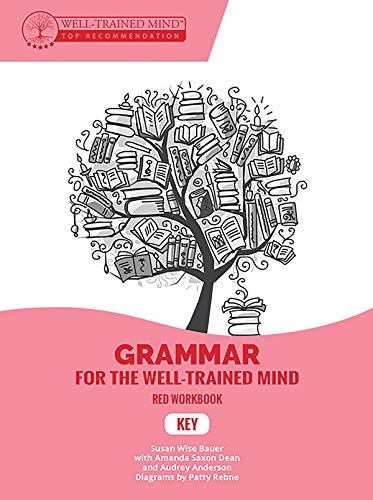 Key to Red Workbook: A Complete Course for Young Writers, Aspiring Rhetoricians, and Anyone Else Who Needs to Understand How English Works (Grammar for the Well-Trained Mind)