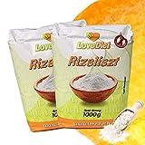 LoveDiet Reismehl glutenfrei 2erPack(2x1000g) / Reismehl Vollkorn zum Backen, Kochen, Panieren / glutenfreie...