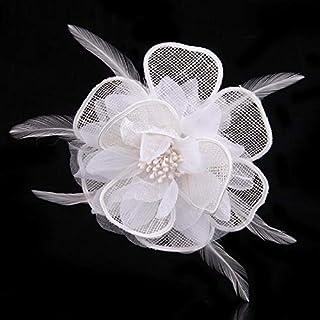 XIONGZ Lindo Arte de la Tela de Tela Flor Broche Pin Solapa Ramillete de la joyería Personalizado para Mujer Bufanda Hebil...