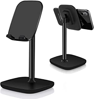 Mobile Phone Stand Holder,ShowTop Multi-Angle Adjustable Smart Phone Desk Stand Dock,Compatible with All Android Smartphon...