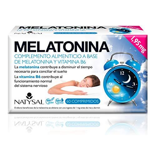 Melatonina 60 comprimidos de Natysal